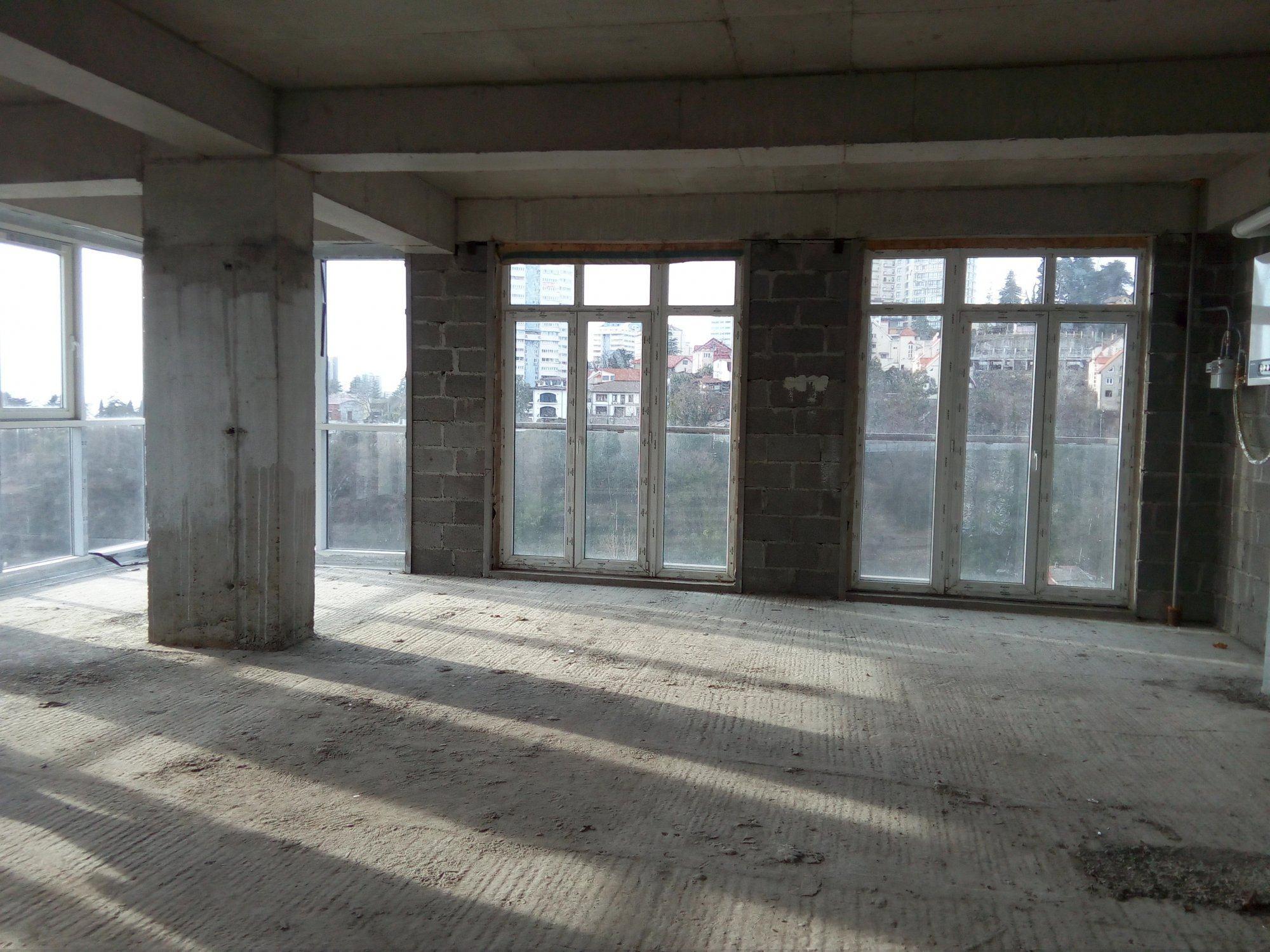 Просторная квартира бизнес-класса с видом на море