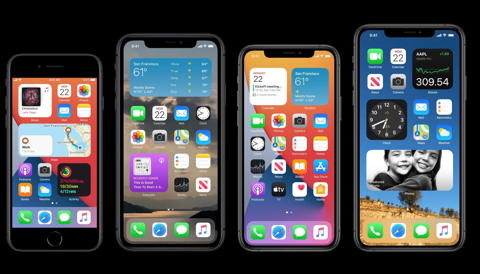 Apple представила iOS 14