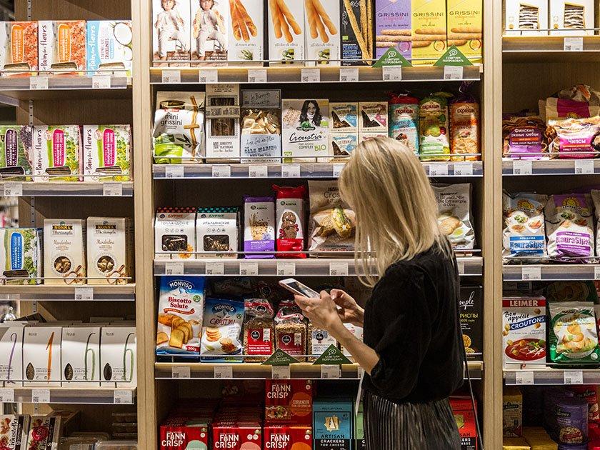 Коммерция будущего: в России появился  первый магазин без касс и продавцов