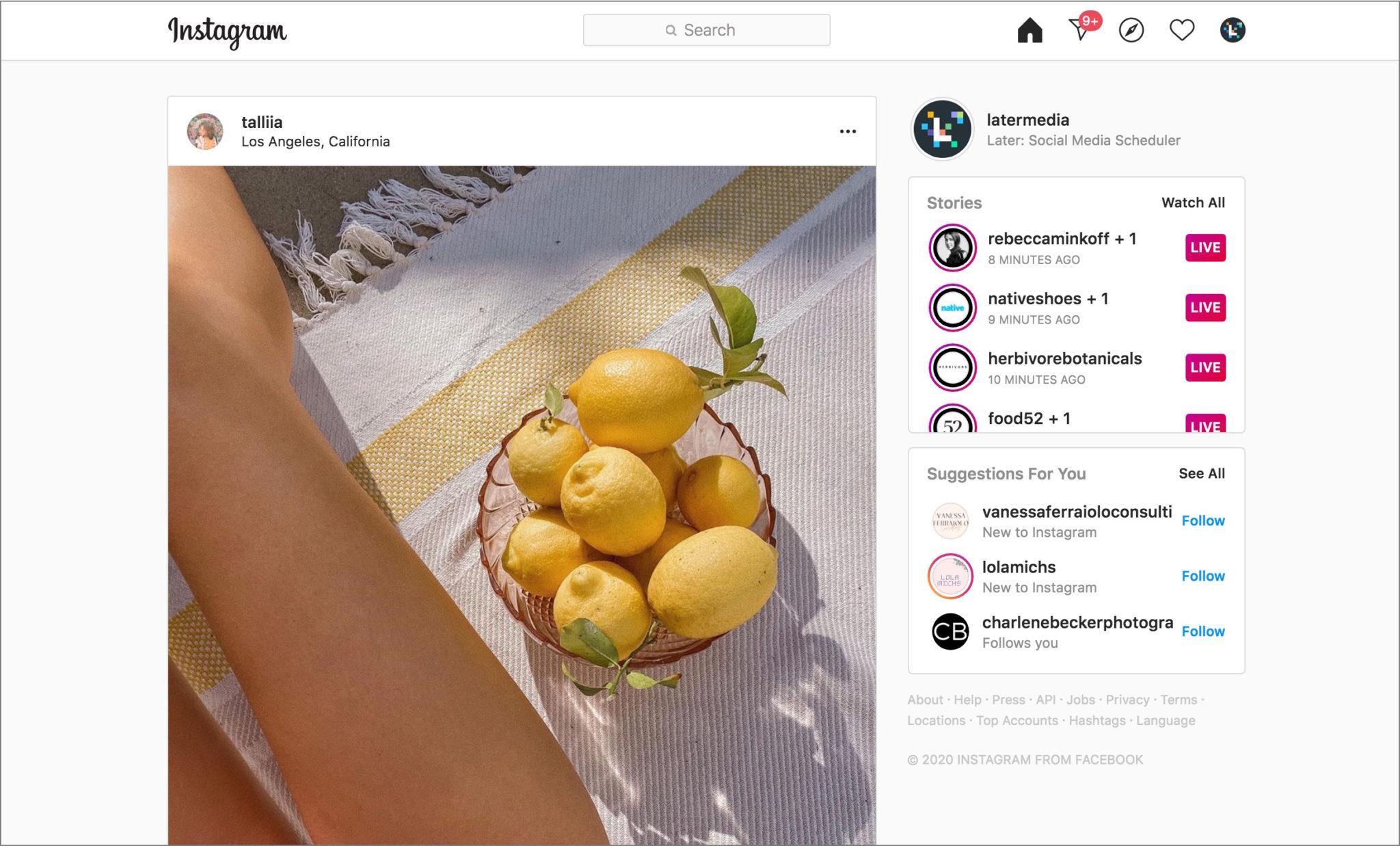 Тренды Instagram 2020 #2: Instagram Live стал мейнстримом
