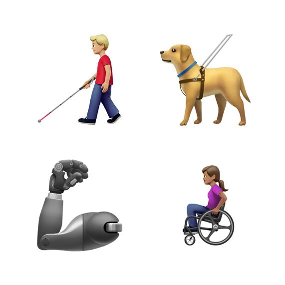 Самые часто используемые эмодзи, согласно данным Unicode