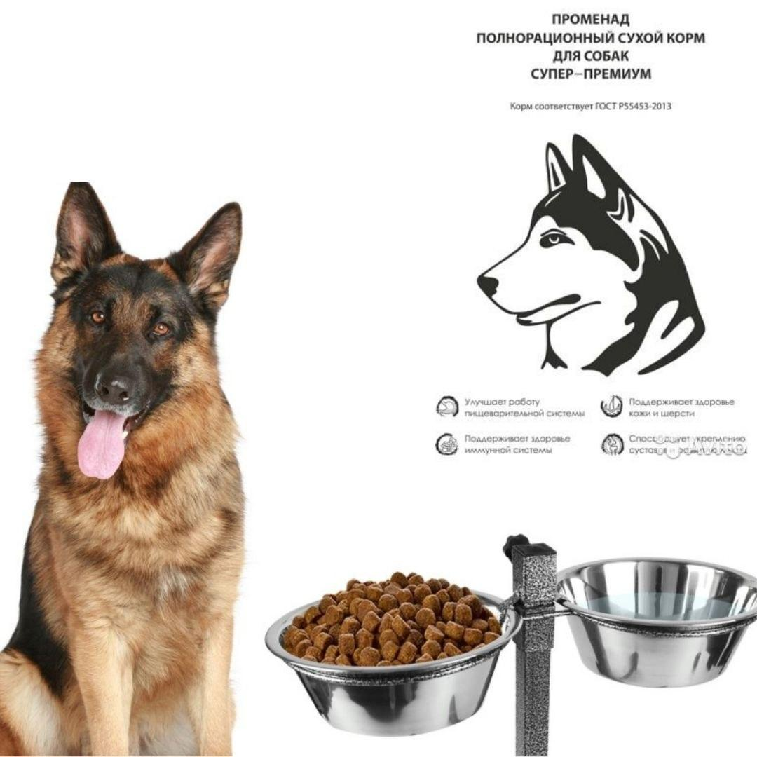 Сухой корм Променад для кошек и собак