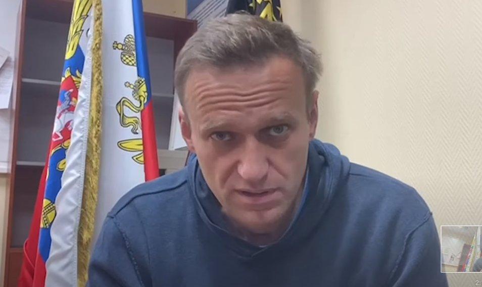 Навальный после ареста призвал людей смелее выходить на протесты