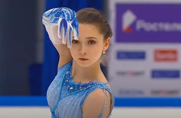 Камила Валиева: короткая программа, финал Кубка России 2021