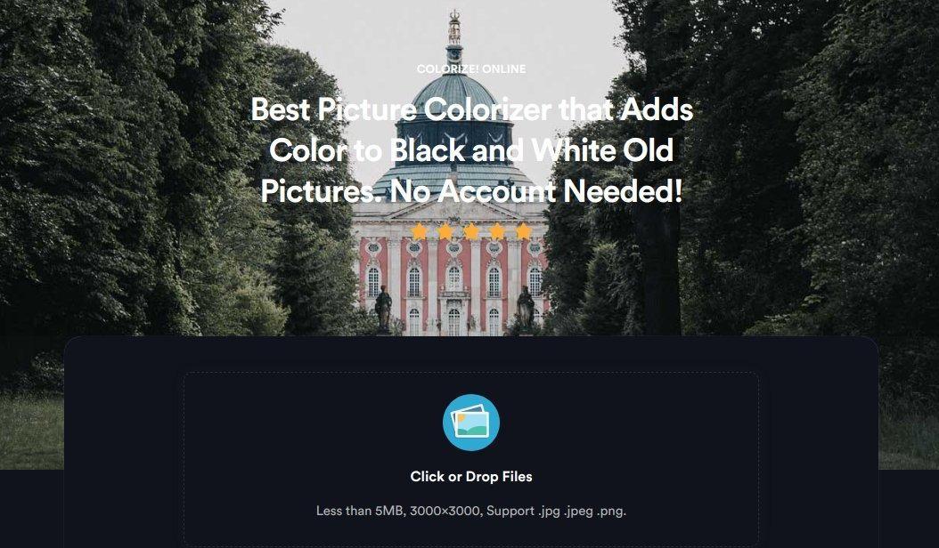 Image Colorizer от Colorize: превращаем черно-белое фото в цветное