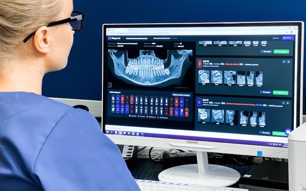 Искусственный интеллект ставит диагноз по рентгену зубов
