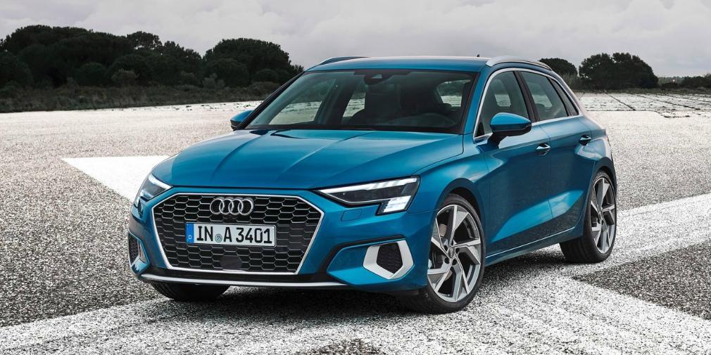 Названы цены на новые Audi A3 для России