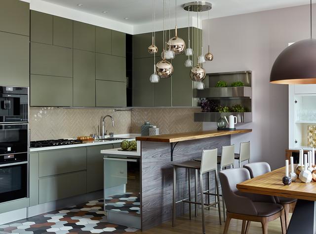 Кухонное пространство: 15 способов эффективного использования