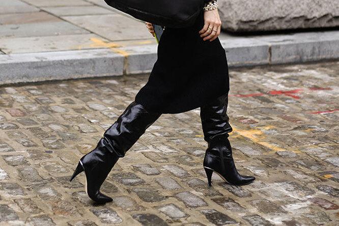 Модные ботфорты 2021: с чем носить, тренды