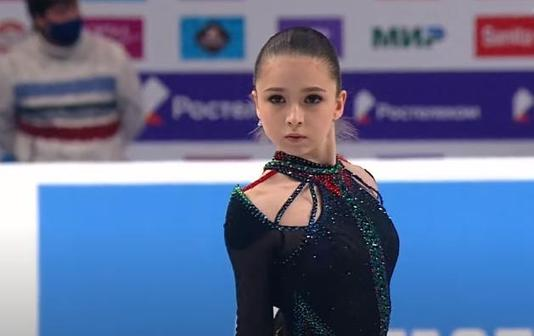 Камила Валиева, Чемпионат России 2020 произвольная программа