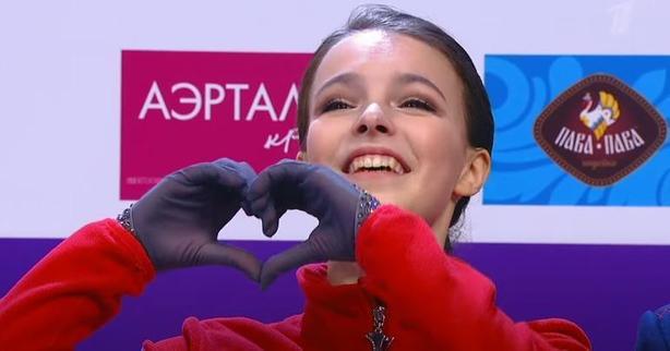 Анна Щербакова, произвольная программа, чемпионат России 2020