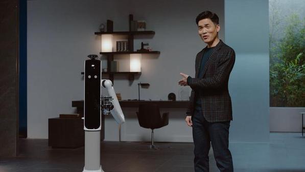 Роботы Samsung на CES 2021: робот-домработница и пылесос с нейросетями