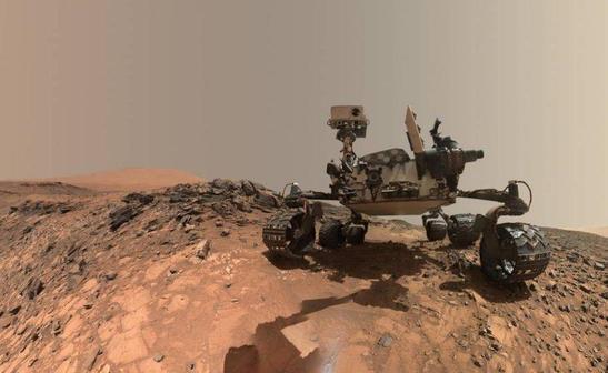 Фотографии с Марса: лучшие снимки марсохода Curiosity (10 фото)