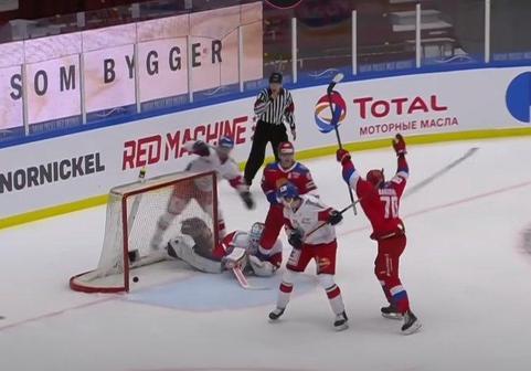 Хоккей Россия – Чехия, Еврохоккейтур: все голы, обзор и результат матча