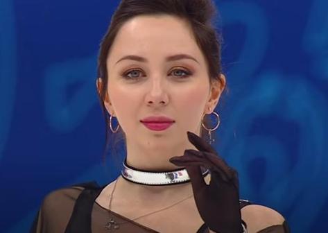 Елизавета Туктамышева: короткая программа, финал Кубка России 2021