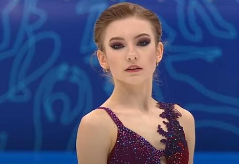 Дарья Усачева: короткая программа, финал Кубка России 2021