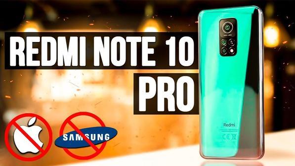 Redmi Note 10 Pro: обзор, характеристики, цена нового смартфона