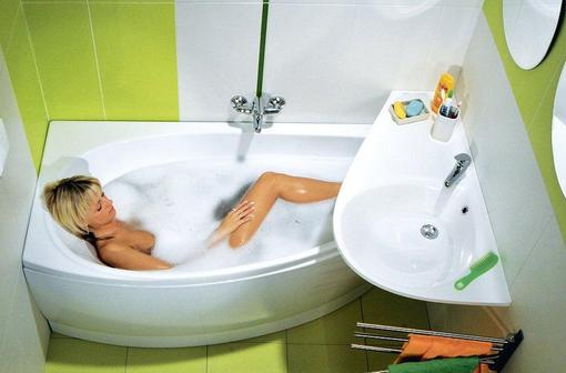 Акриловые ванны Ravak из Чехии: Avocado, Domino, Vanda