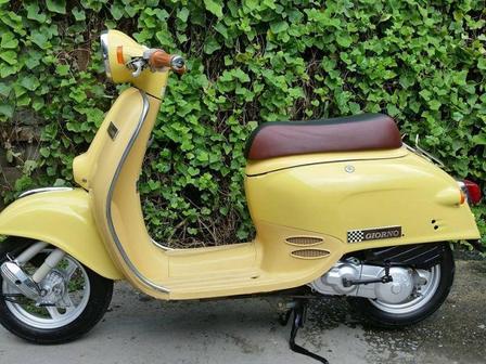 Скутеры Honda Giorno, Duo, Benly, Zoomer