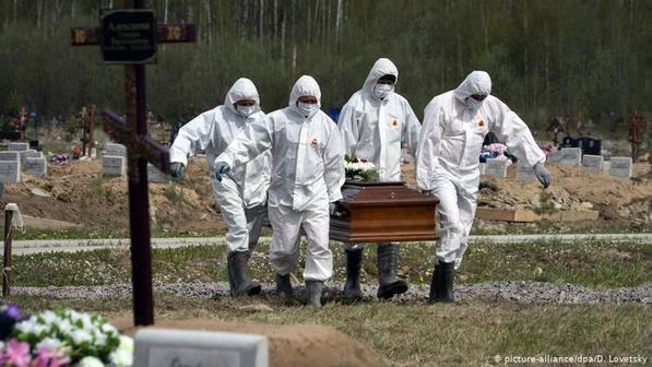 Россия — лидер по избыточной смертности в эпоху пандемии (NY Times)