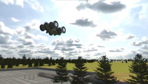 В России решили создать летающий автомобиль