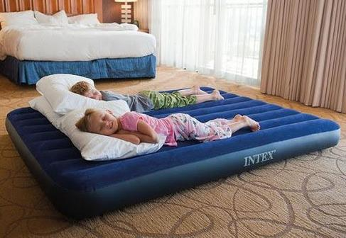 Какой купить надувной матрас для сна