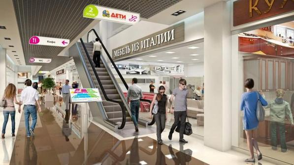 В Москве и Санкт-Петербурге стали меньше посещать торговые центры