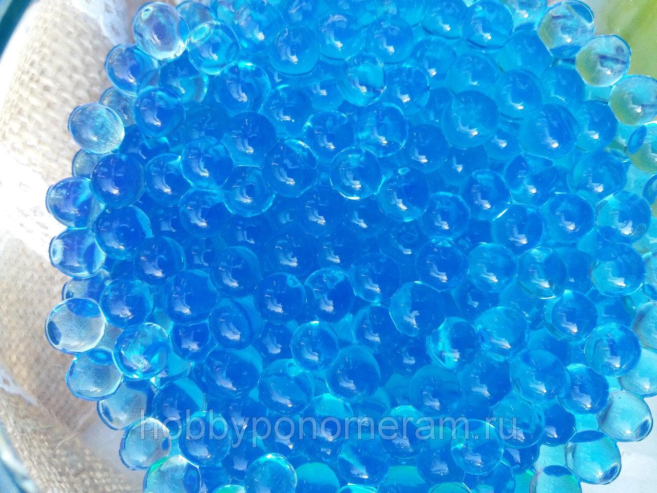 Орбиз цветные шарики растущие в воде 5 g синие