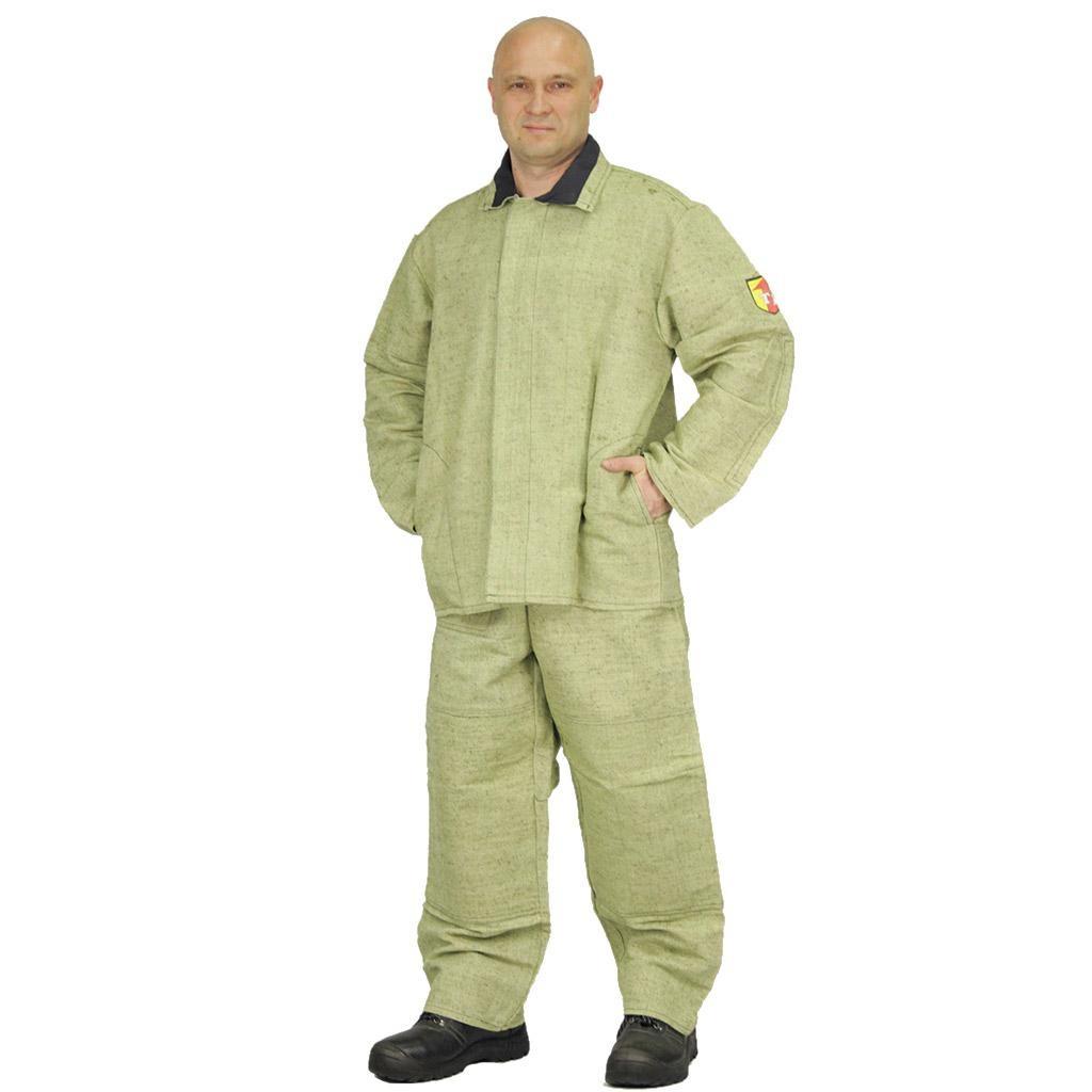 Костюм сварщика брезентовый, куртка+брюки