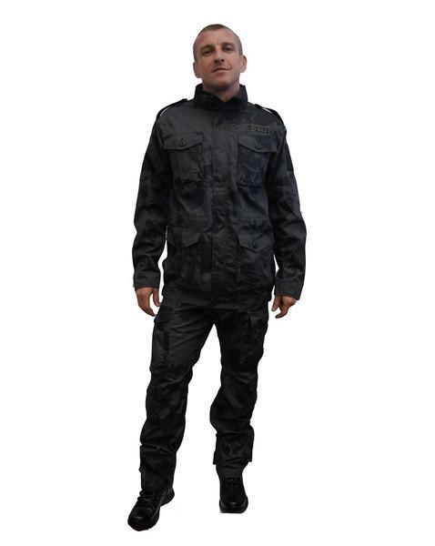 Костюм «Нато» (смесовая, черный кмф) 762