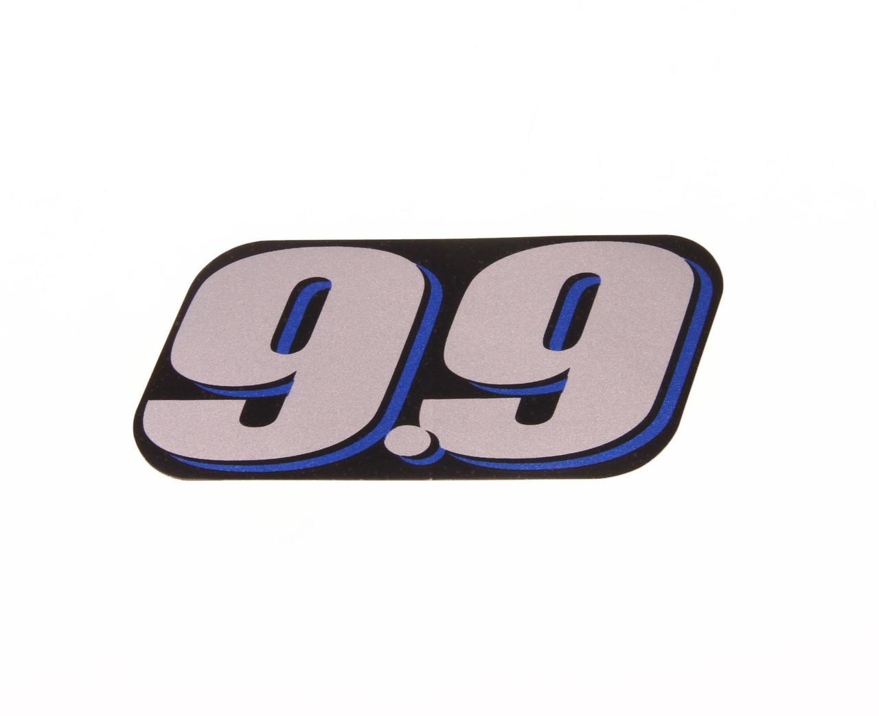 Наклейка капота Suzuki DT99A (99), задняя 6143595L00000