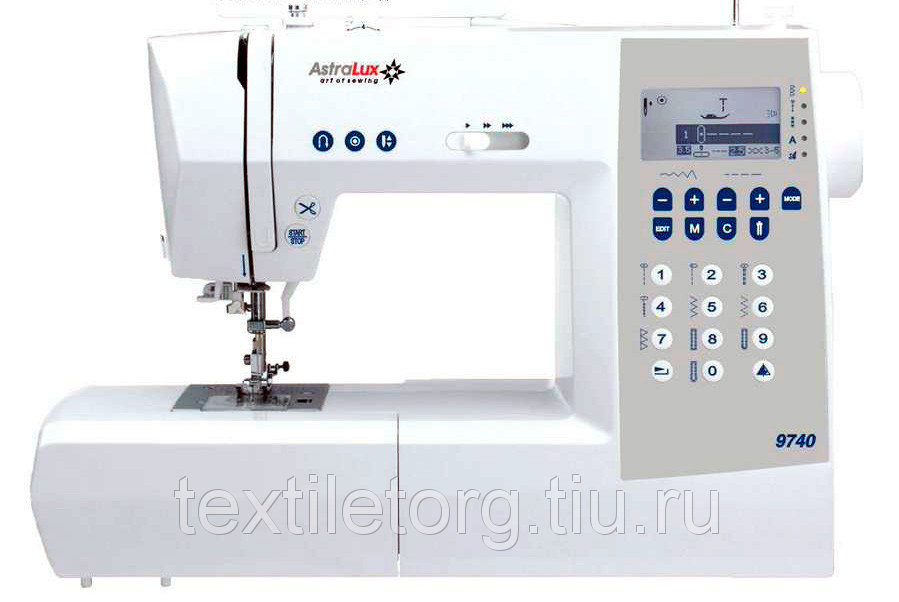 Компьютеризированная швейная машина AstraLux 9740
