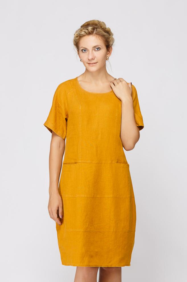 Платье лён 2106