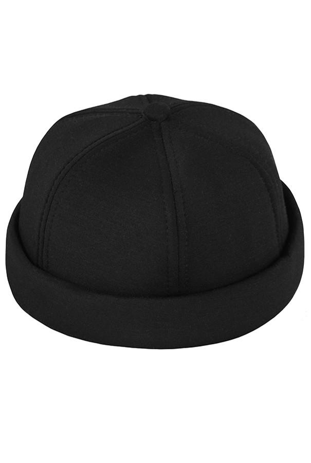Бейсболка без козырька  Your Number  17044 Docker Cap  чёрный  (One size)