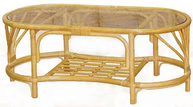 Стол центральный из ротанга 0114 A1
