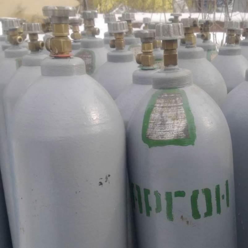 Баллоны с аргоном 40 литров