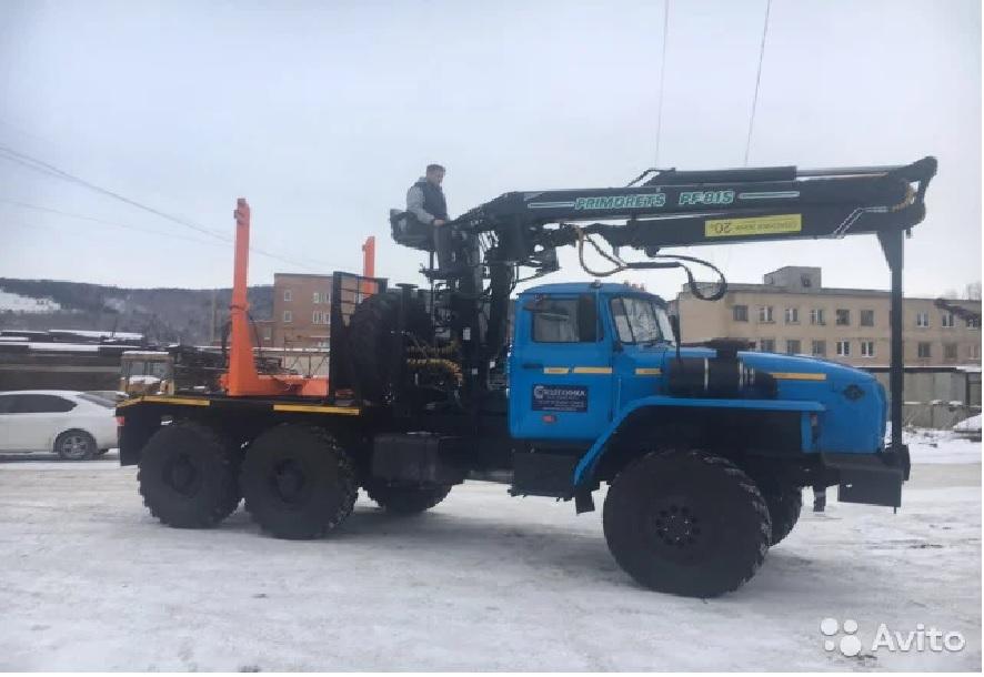 Заводские лесовозы Урал 2019 г.в в наличии с кму