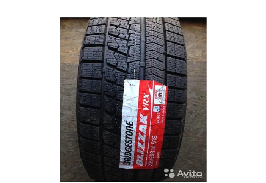 205/55/16 Bridgestone Blizzak VRX