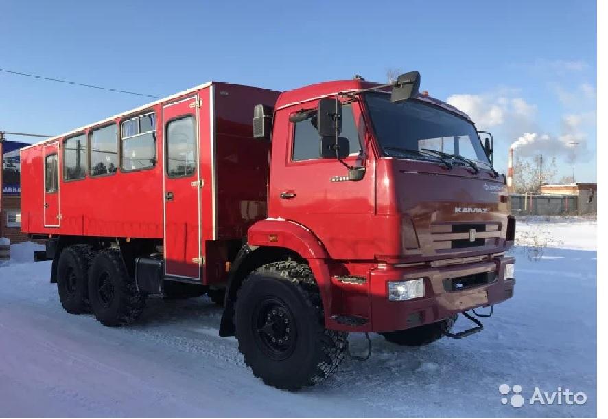 Продается КамАЗ 43118-3027-46 грузопассажирский  автобус 20+2 места, с закрытым грузовым отсеком