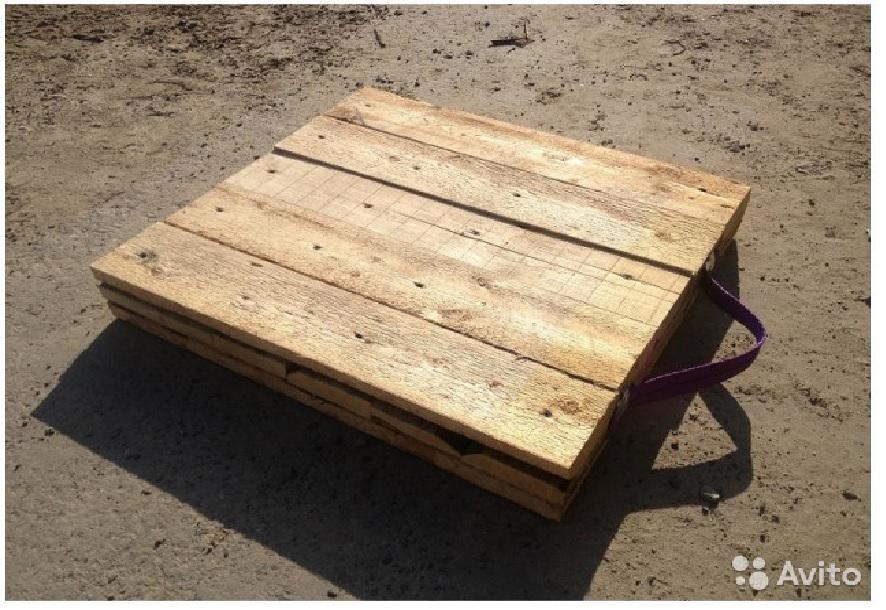 Деревянные подушки под лапы автокрана