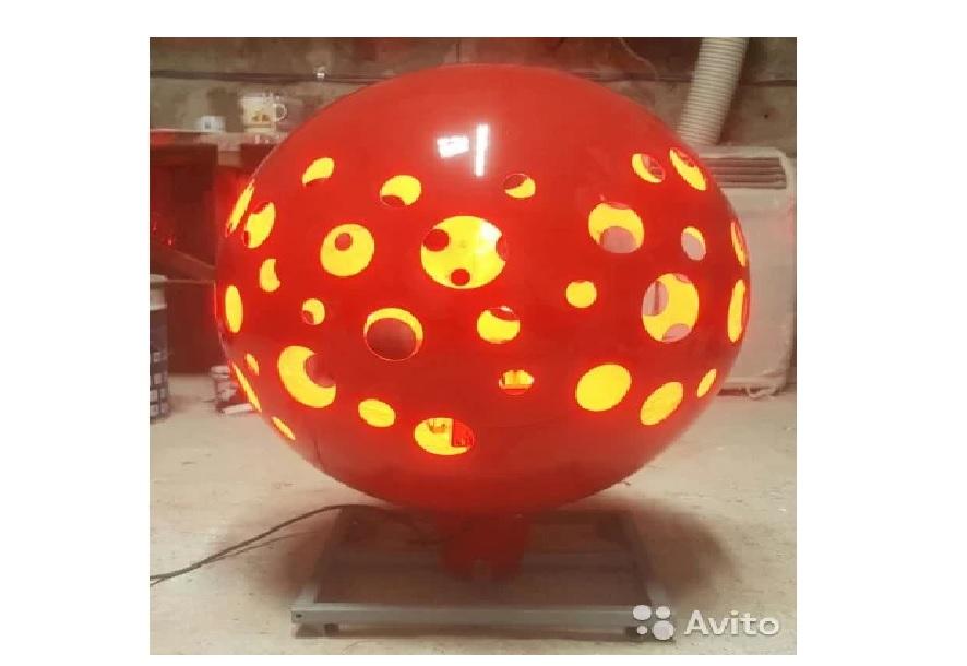 Световые шары из стеклопластика