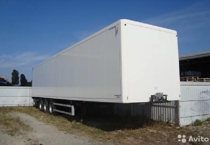 Полуприцеп фургон изотермический