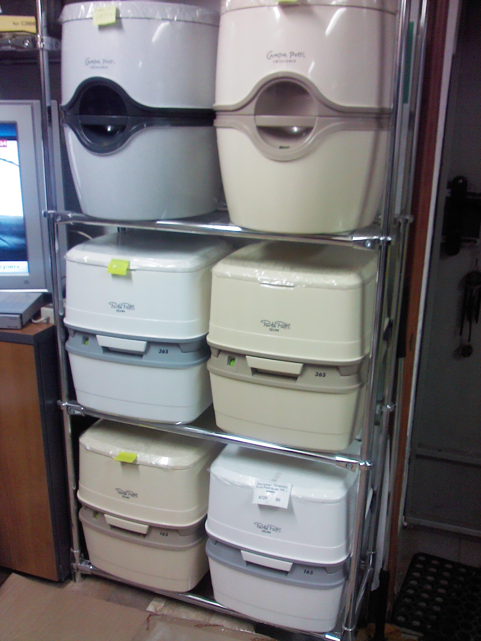 Биотуалет-автономный переносной туалет с водным смывом