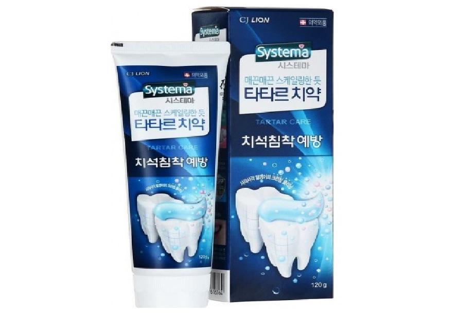 CJ LION SYSTEMA Зубная паста против зубного камня, 120г