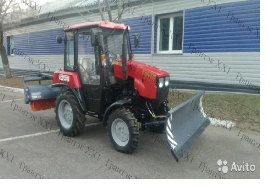 Трактор Беларус 320.4 отвал щетка (муп-320-01)