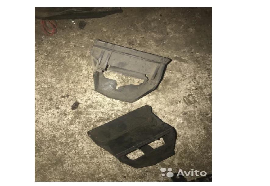Крепление кассеты радиаторов бмв е65 е66