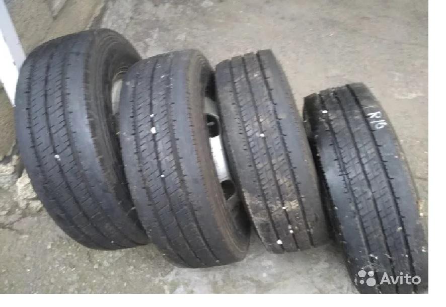 Грузовые шины с дисками R15
