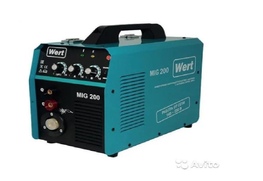 Сварочный полуавтомат MIG-200 Wert
