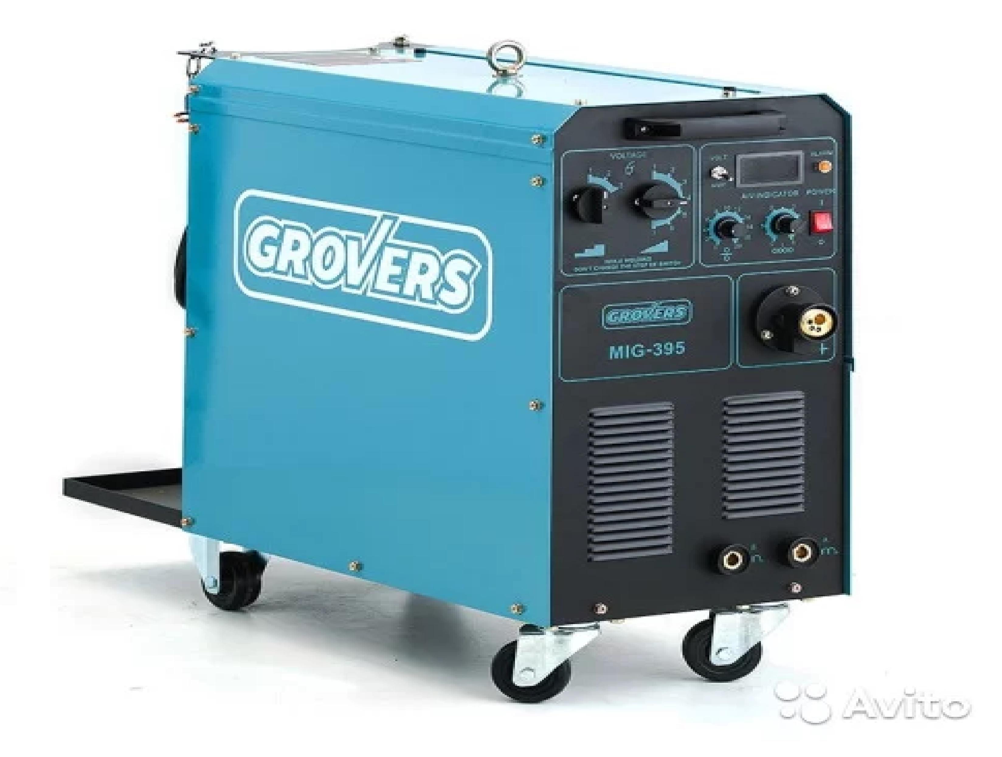 Полуавтоматическая сварка grovers MIG 395 MIG/MAG