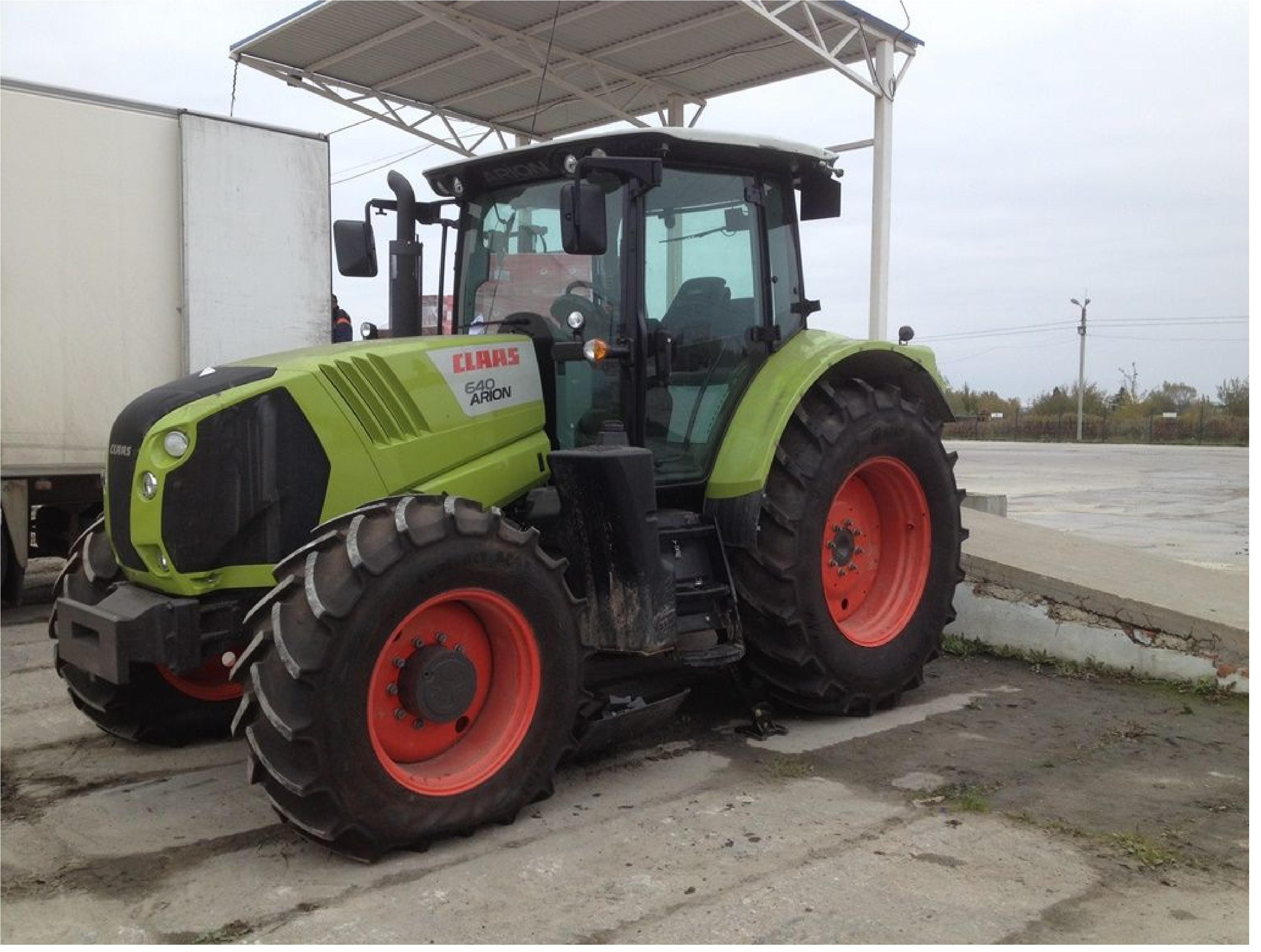Новый трактор CLAAS 640 ARION 2014 год